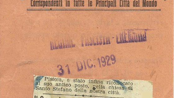 L'Eco della Stampa, 31 Dicembre 1929