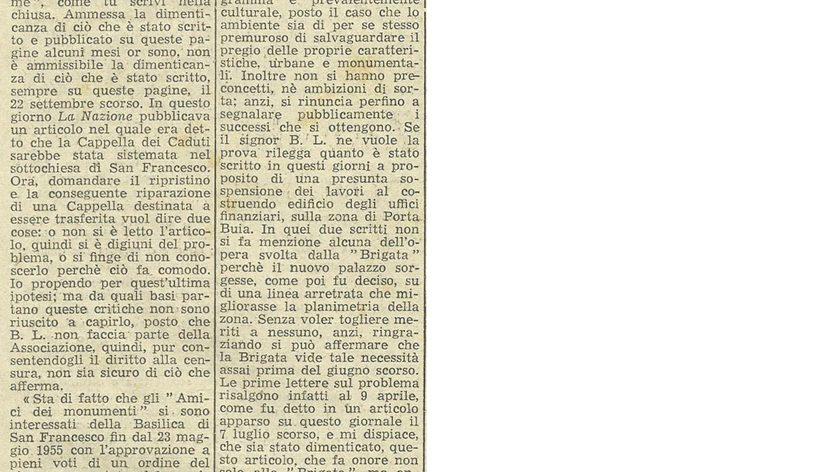 La Nazione Italiana, 18 Ottobre 1956