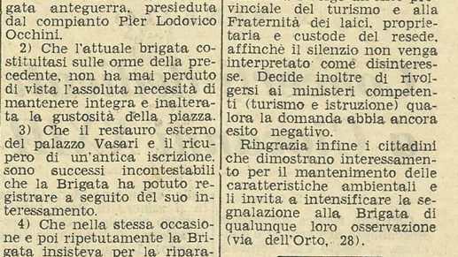 La Nazione, 21 Febbraio 1964