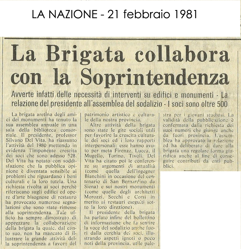 La Nazione, 21 Febbraio 1981