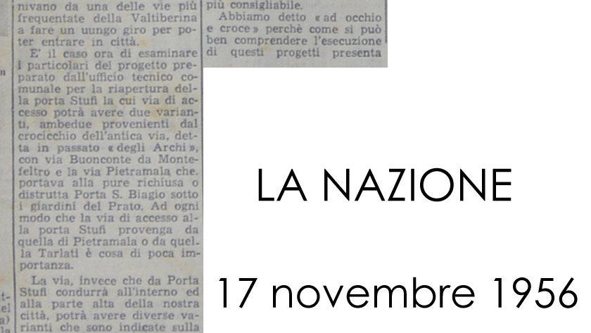 La Nazione, 17 Novembre 1956