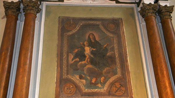 La tela del Santini